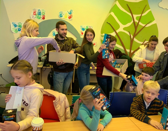 Charity celebration for students of the inclusive Center «Divosvit»
