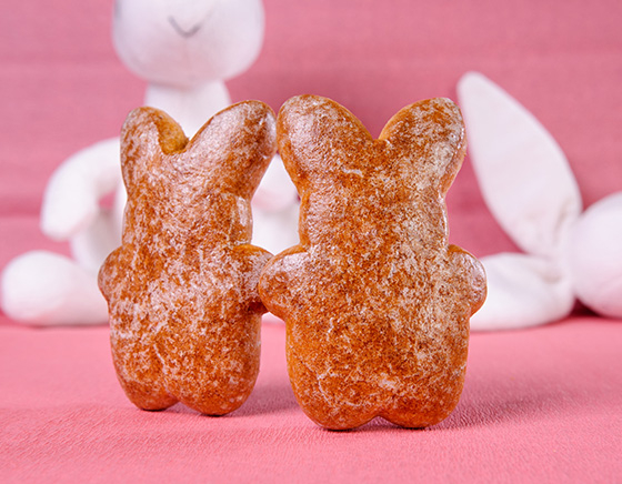 Cooked gingerbreads «Bunny»
